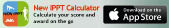 New IPPT Calculator for iPhone - calculate IPPT score and IPPT award