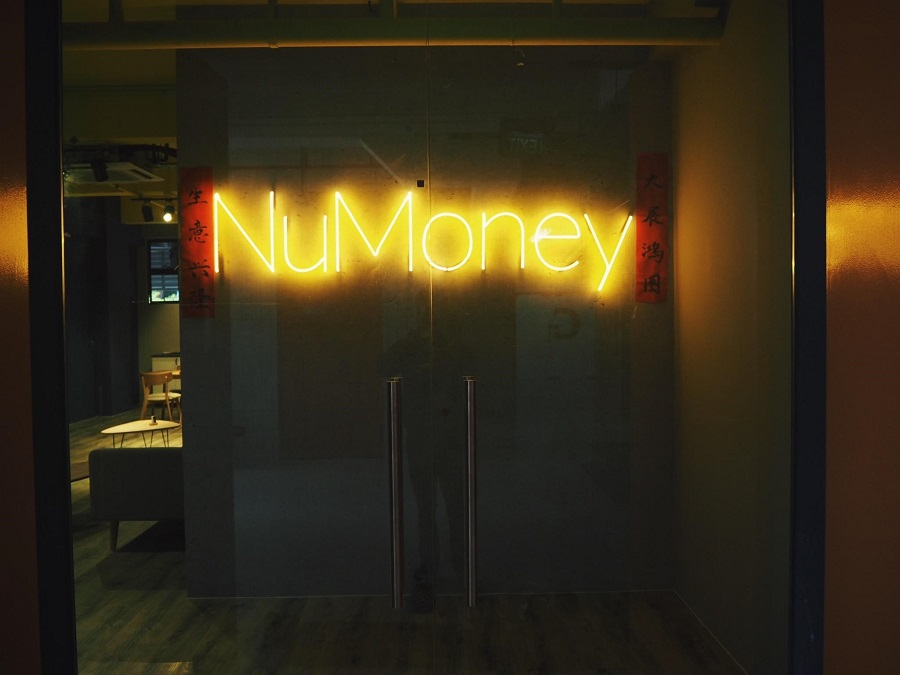 NuMoney's entrance to their office
