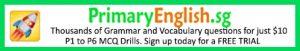 English grammar and vocabulary drills